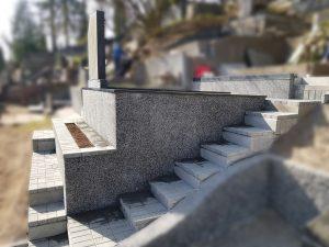 Pamatų pylimas kapinėse 865688083